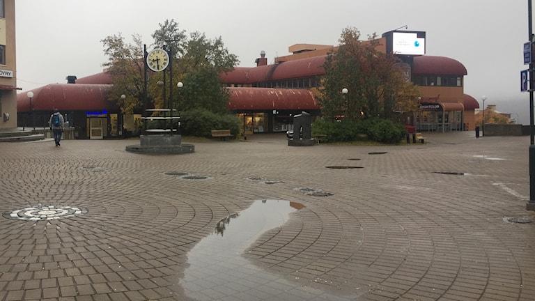 Kiruna kommun uppger att det finns idéer om vad som kan göras i Kiruna centrum.