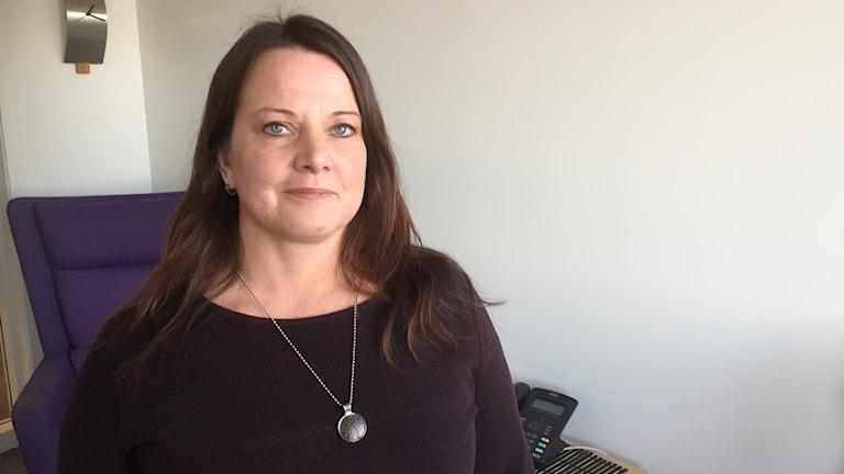 Ulrika Pettersson, ungdomsbehandlare på Bodens kommun.