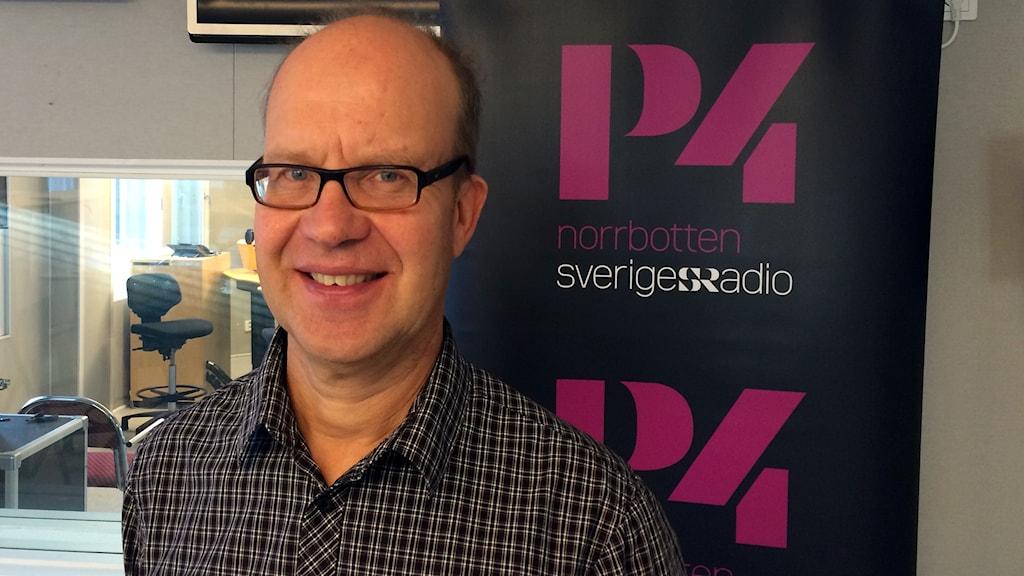 Jan Lundberg, professor i drift och underhåll vid Luleå tekniska universitet.
