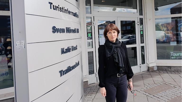 Monica Risenius, vd på Kiruna Lappland.