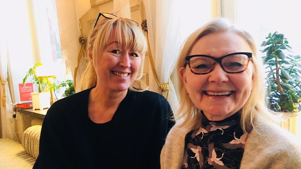 Sara J:son Lindmark och Margareta Lindh, Norrbottens museum