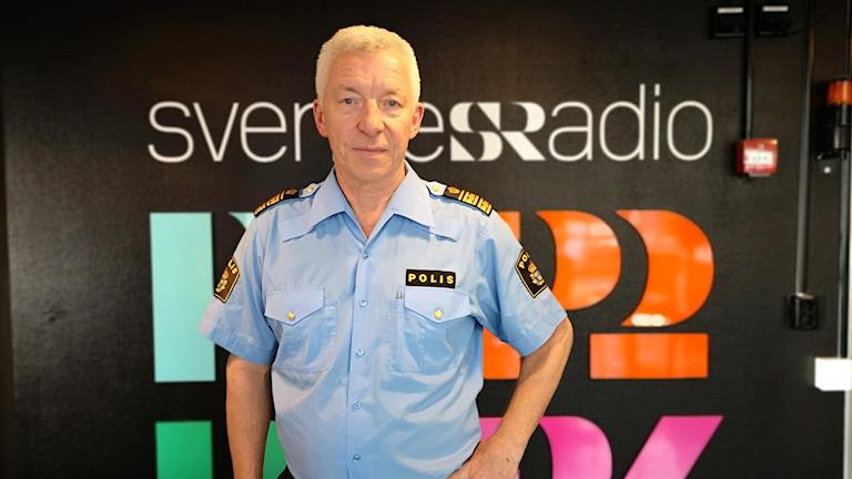 Håkan Karlsson, polisområdeschef i Norrbotten