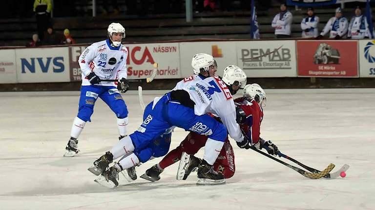 Kalix Bandy mot Vänersborg.