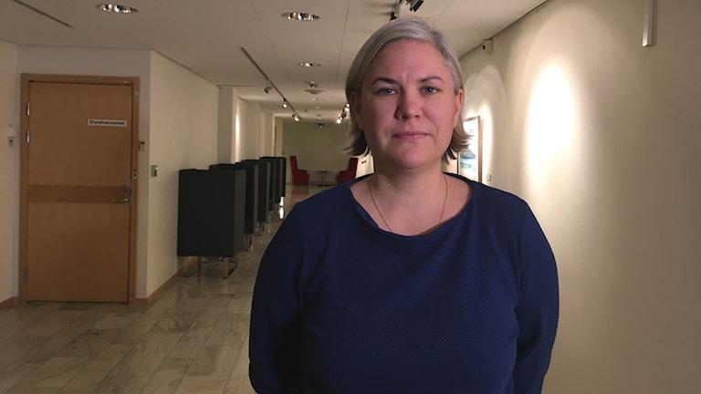 Linnea Hedman, projektledare och forskare i Olin-studierna i region Norrbotten och docent i folkhälsovetenskap och epidemiologi vid Umeå universitet.