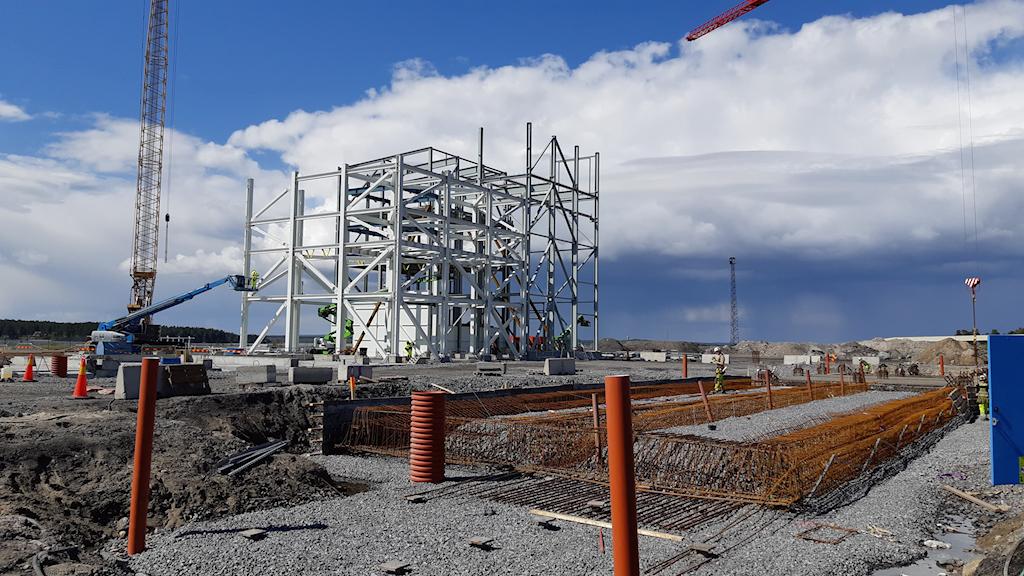 Pilotanläggningen för kolfri stålproduktion.