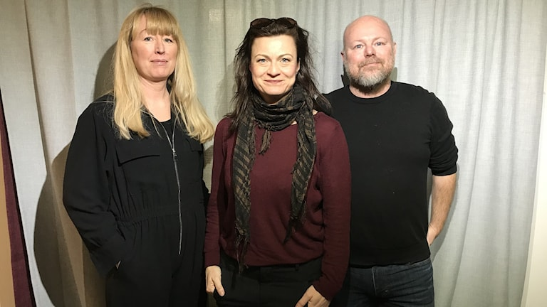 Sara Json Lindmark, Charlotte Lindmark och Johan Håkansson