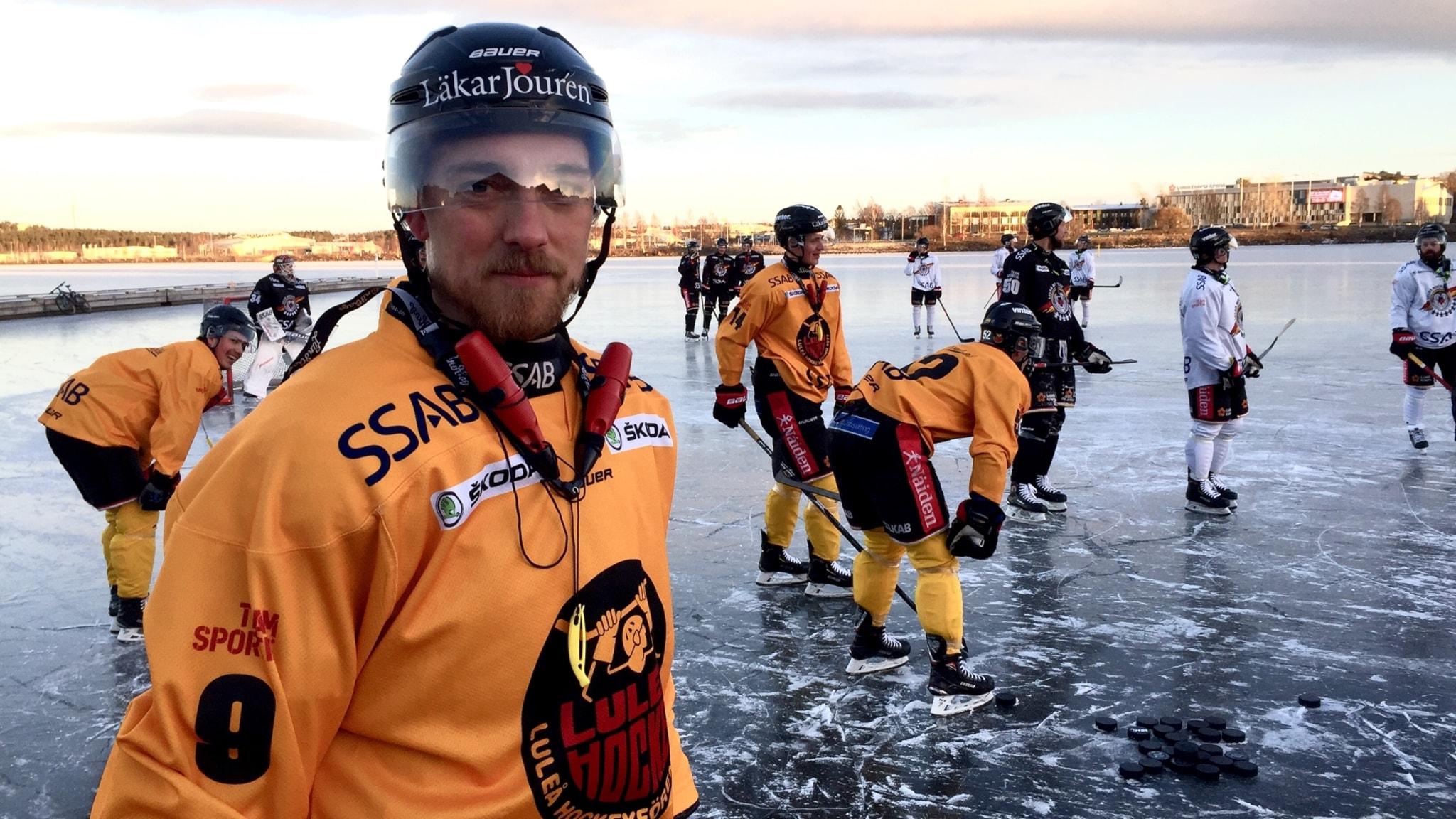 85bf6433bce8 Luleå Hockey flyttade ut träningen till naturisen - P4 Norrbotten    Sveriges Radio