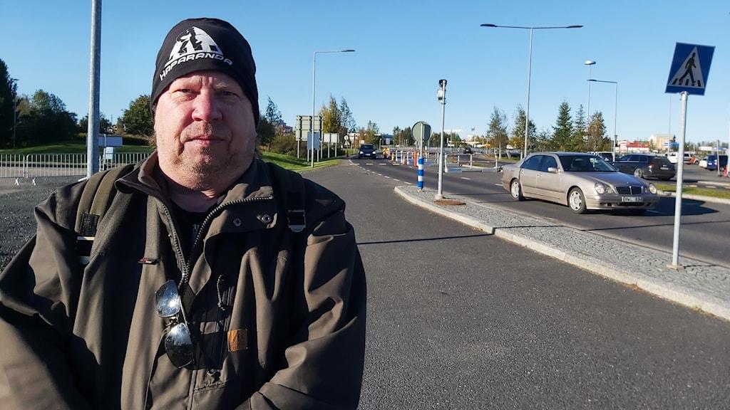 Stefan Haapaniemi är en av de som välkomnar att gränsen mellan Sverige-Finland har öppnats.
