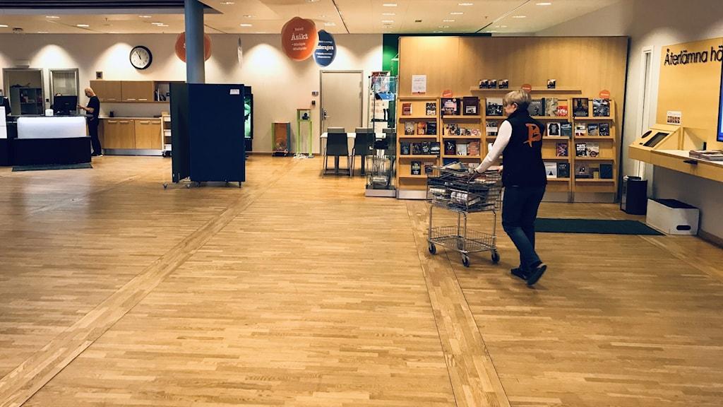 Stadsbiblioteket i Luleå.