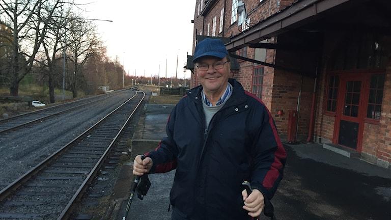 Lennart Lindfors, historiker Haparanda station