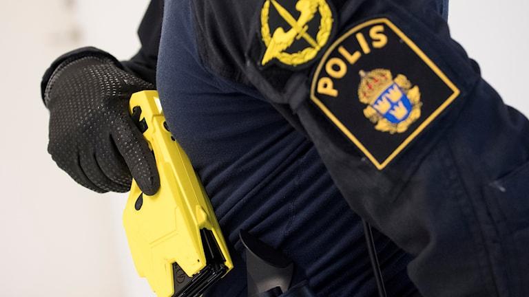 Polisens elchockvapen