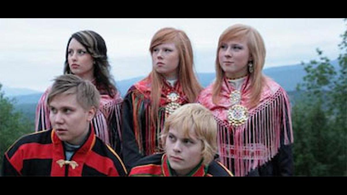 Somby on mukana Liet Lavlut 2009-kilpailussa Foto:Liet