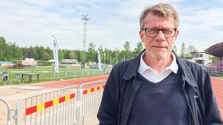 Anders Wetterberg, klubbchef i Gefle IF Friidrott.