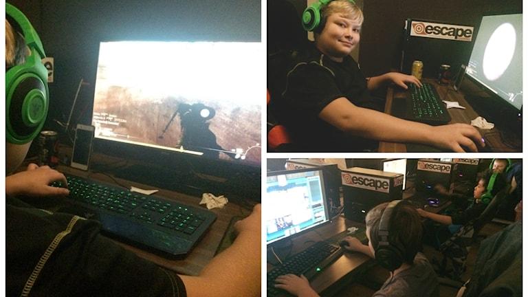 IOGT-NTO öppnar dörrarna för unga som vill spela dataspel.