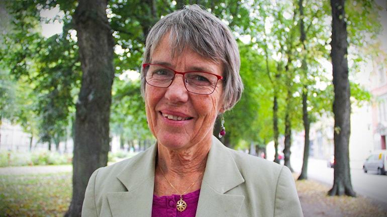 Margareta Sidenvall är gäst i studion för att prata om Världens barn.