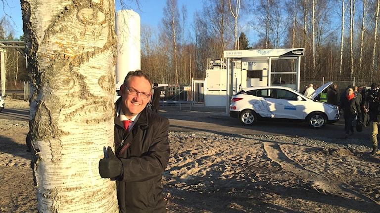 Sandviken Sandvik Materials Technology Vätgas Vätgastankstation Miljö Grön Energi Bränsle Bränslecell