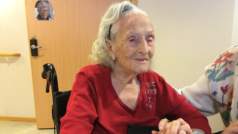 Kerstin Boman fyller 106 år.