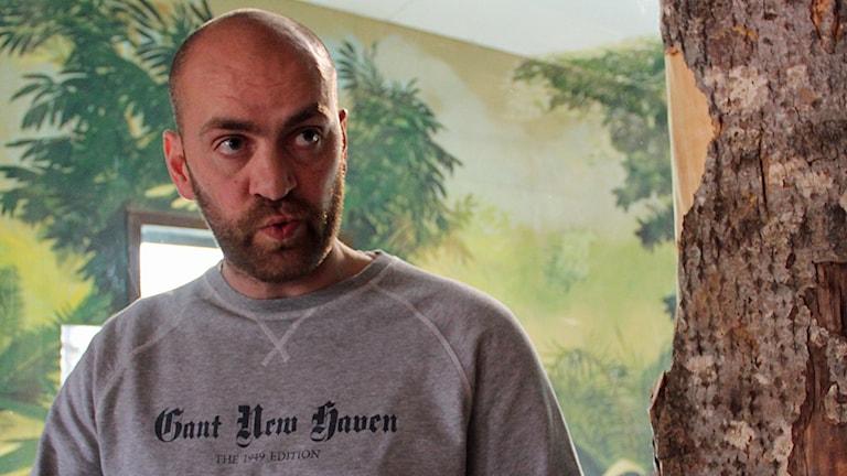 Daniel Hansson är djurchef på Furuviksparken.