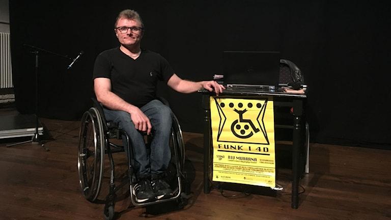 Lars-Göran Wadén, kommunikatör för Funk i 4D.