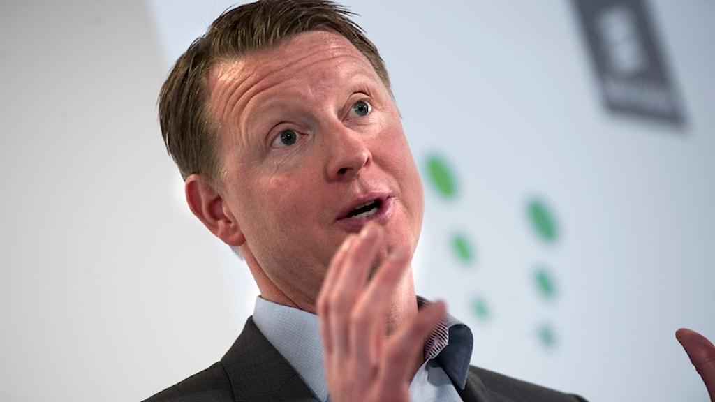 Ericssons VD Hans Vestberg. Foto: Fredrik Sandberg/Scanpix