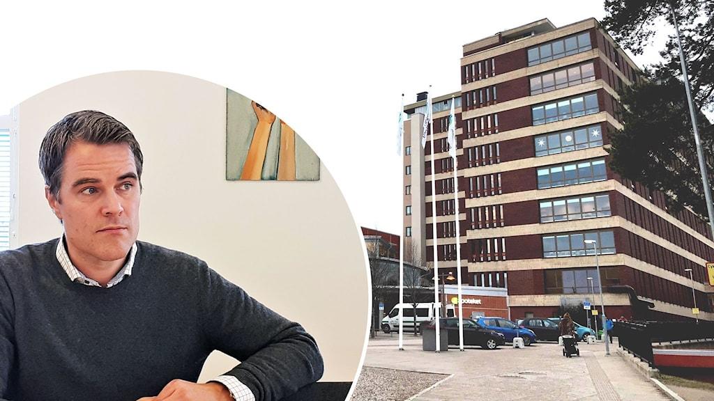 Johan Kaarme, Region Gävleborgs biträdande hälso- och sjukvårdsdirektör och Gävle sjukhus.