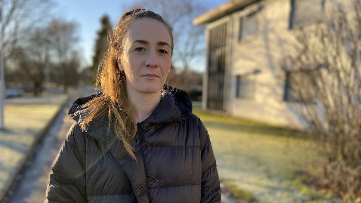 Gro-Malvina Bakke Andersson, som bor i Gästrike-Hammarby, har tillsammans med andra föräldrar skickat in synpunkter på den omdiskuterade skolhusplanen.