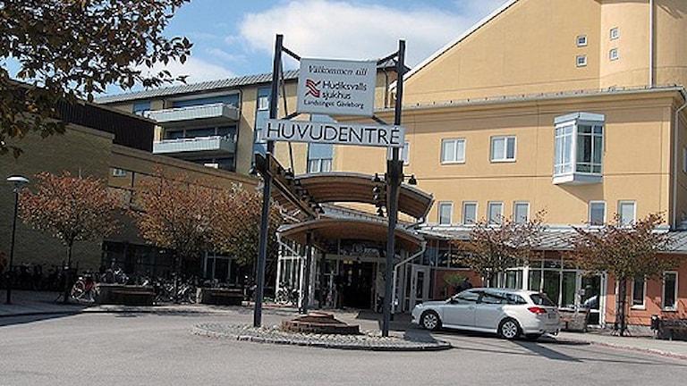 Hudiksvalls sjukhus. Foto: Staffan Mälstam/Sveriges Radio