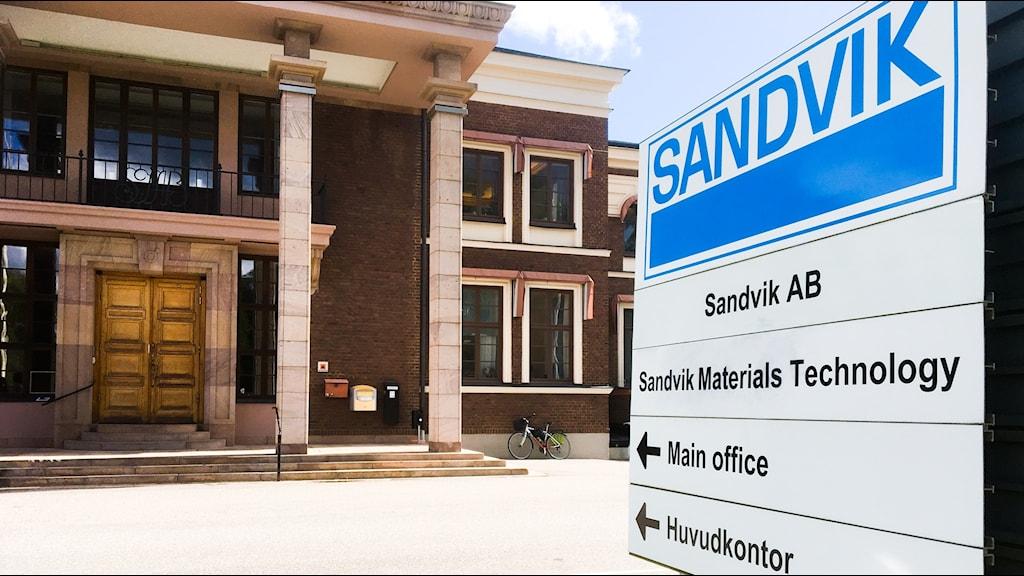 Sandviks gamla huvudkontor i Sandviken.