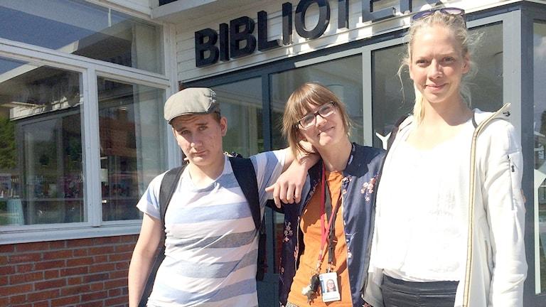 Anton Larsson, Annelie Våhlin, Lina Jan-Ers