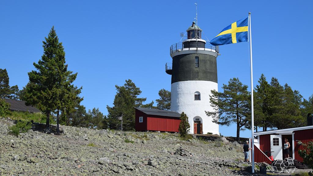 Storjungfruns fyr är ett välkänt sjömärke för alla som seglat längs Gävleborgs kust.