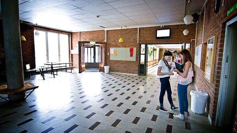 På Solängsskolan i Gävle använder man sig av Social och emotionell träning. Foto: Fernando Arias SR Gävleborg