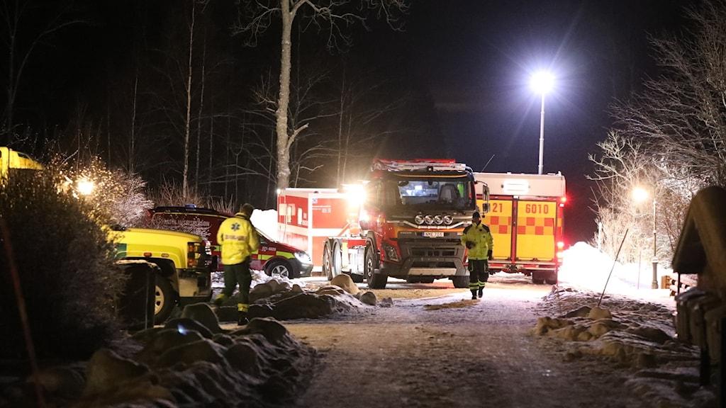 Drunkningstillbud i Långsand.