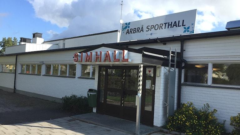 Simhallen i Arbrå