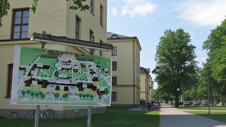 Högskolan i Gävle. Foto: Sveriges Radio