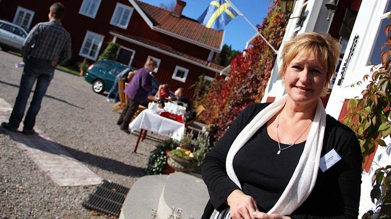 Katarina Ceder Bång. Foto: Magnus Hansson/Sveriges Radio