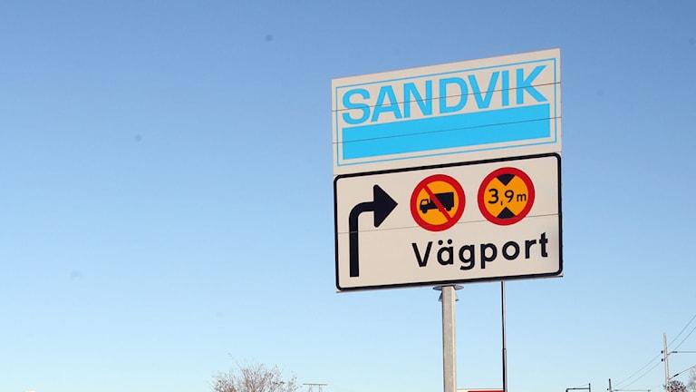 Sandvik. Foto: Mats Åstrand / Scanpix