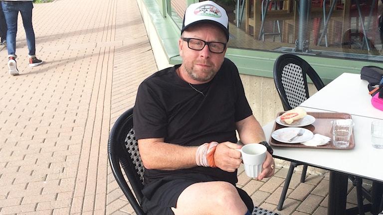 Olle Svalander, författare och välgörenhetslöpare