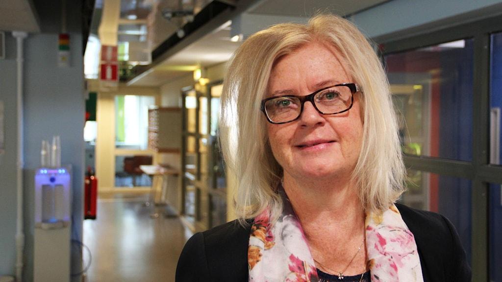 Evelyn Klöverstedt, ordförande i utbildningsnämnden, gävle kommun
