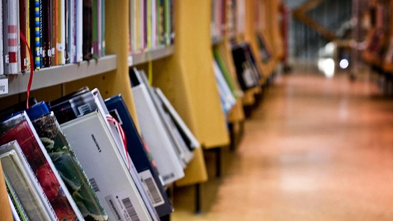Opposition vill bygga ut det välbesökta biblioteket redan 2014. Foto: Fernando Arias