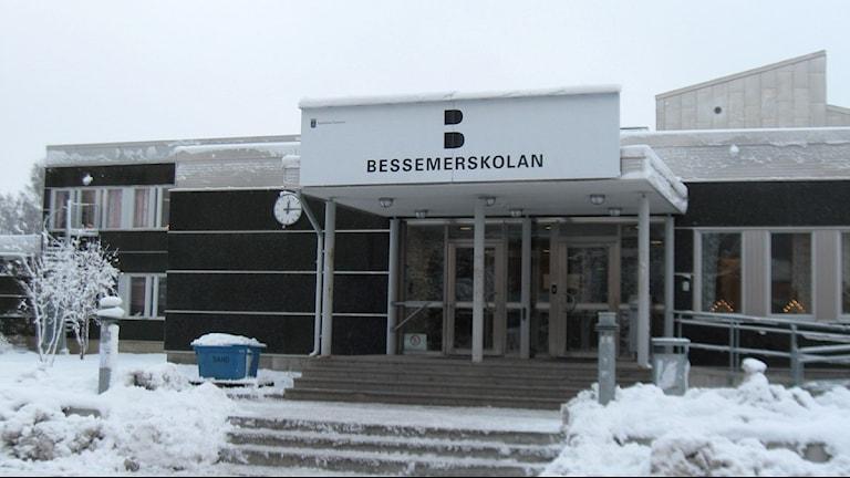 Bessemerskolan i Sandviken. Foto: Anna Molin / Sveriges Radio