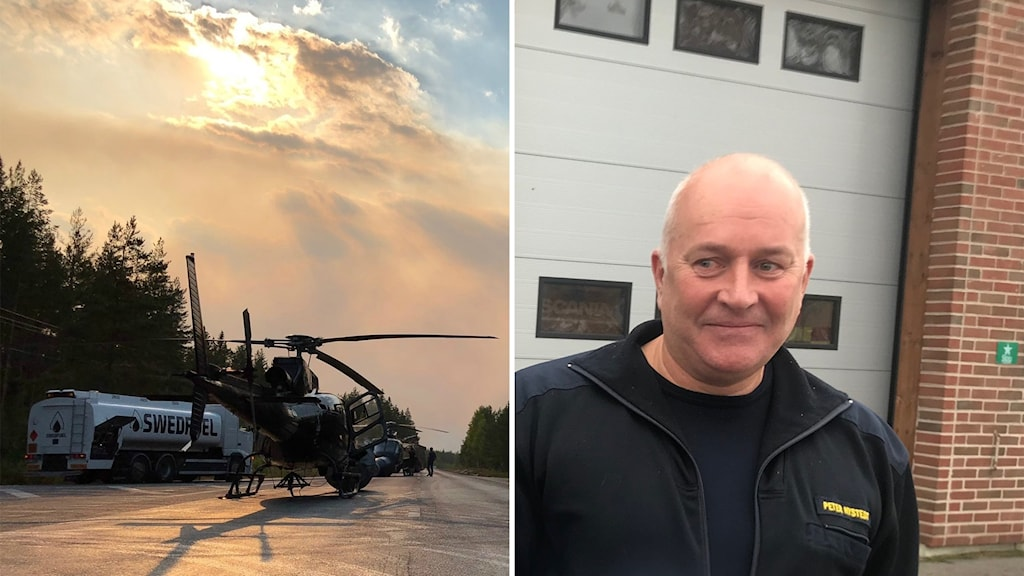 Peter Nysted är chef för räddningstjänsten i Ljusdals kommun.