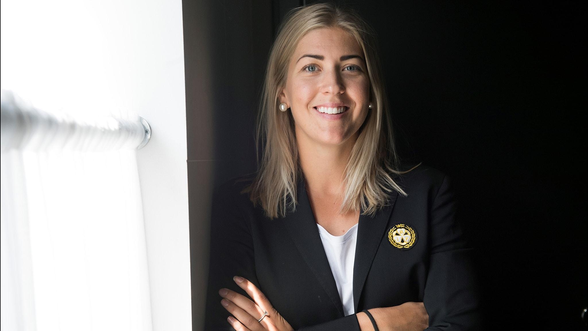 Erika Grahm historisk när hon blir sportchef för Brynäs herrlag