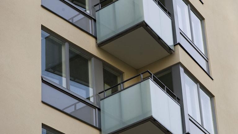 I Gävleborg har priset på bostadsrätter ökat det senaste året, enligt nya siffror från Mäklarstatistik som Svenska Fastighetsförmedling tagit del av. Foto: Henrik Montgomery / Scanpix