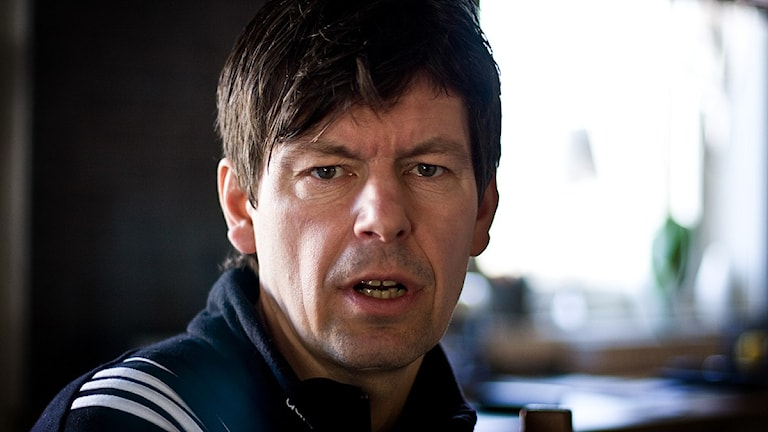 Bollnäs tränare Joakim Forslund. Foto: Fernando Arias / Sveriges Radio