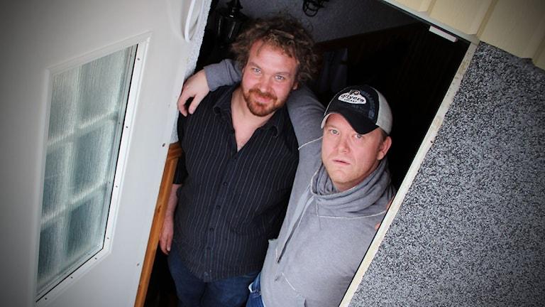 Christian Wallin och Christer Johansson från Småstadsliv.