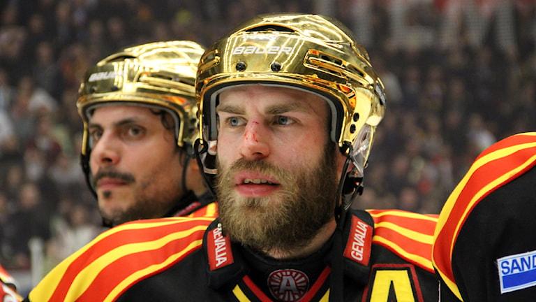 Jörgen Sundqvist hade ett jack över näsbenet som han inte brydde sig om. Foto: Martin Svensson / Sveriges Radio