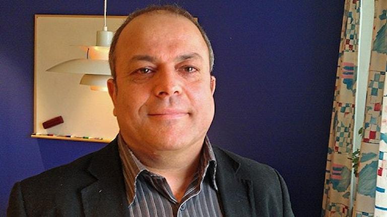 Arbetsförmedlingens chef Mohamed Chabchoub har indirekt gynnats av oljeolyckan i Sandarne. Foto: Christian Höijer / Sveriges Radio