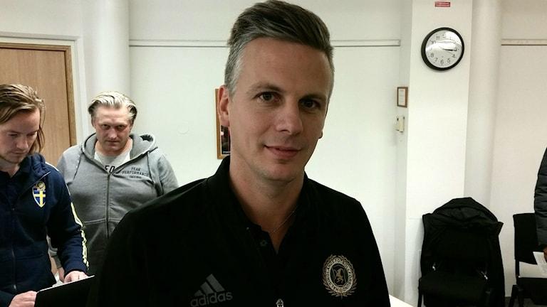 Efter årsskiftet tar Christian Fagerhov steget upp som fotbollsutbildare på förbundsnivå tillsammans med Pernilla Karlsson.