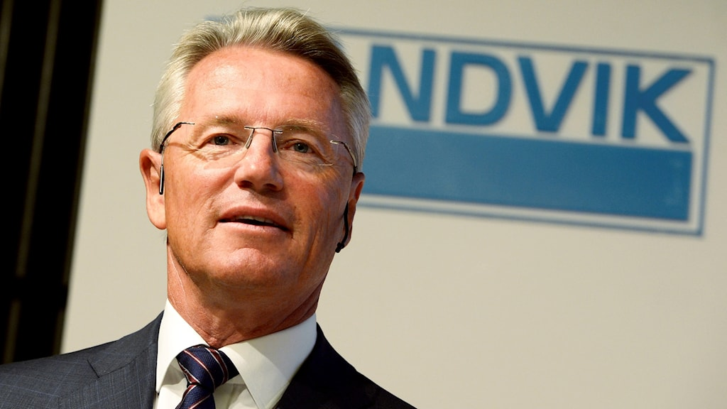 Sandviks vd Björn Rosengren.