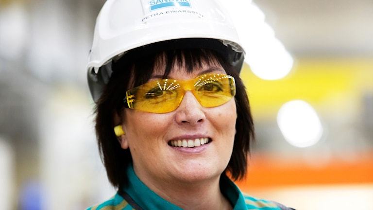 Petra Einarsson, chef för Sandvik SMT. Foto: Sandvik